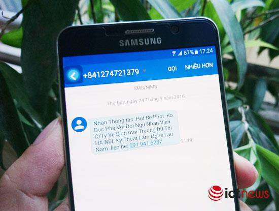 Hà Nội: Phát tán tin nhắn rác, 1 doanh nghiệp bị phạt 45 triệu đồng