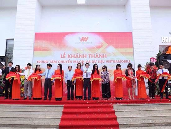 Vietnamobile khánh thành Trung tâm dữ liệu chuẩn bị cho phủ 3G đến 90% dân số