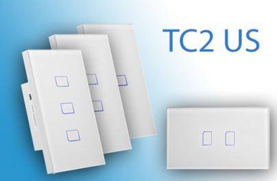 Công tắc cảm ứng, điều khiển từ xa Broadlink TC2 chuẩn US